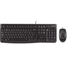 Logitech Keyboard & Mouse (Wired) MK120