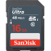 SanDisk Normal SD Card Ultra Class 10 (48mb/s)
