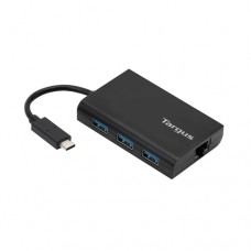 Targus USB-C USB 3.0 Hub with Gigabit Ethernet